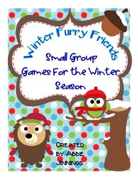 Winter Furry Friends Small Group Activities- First Grade