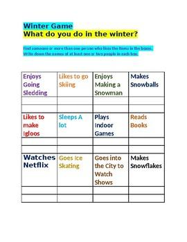 Winter Game