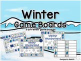 Winter Game Boards