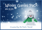 Winter Game Pack for SLPs