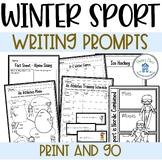 Winter Sport Writing Prompts