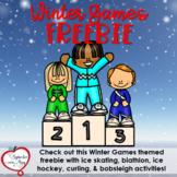 Winter Games 2018 Freebie - Sample of My Full Unit!