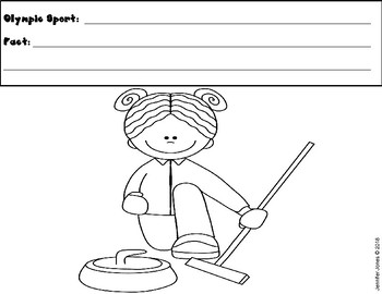 Winter Games 2018 Recording Sheet