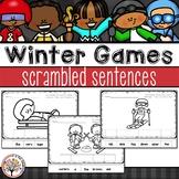 Winter Games 2018 Scrambled Sentences