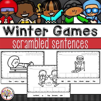 Winter Games 2018 Scrambled Sentences