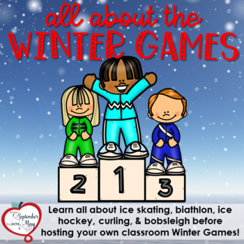 Winter Games 2018 Unit featuring CLASSROOM WINTER GAMES