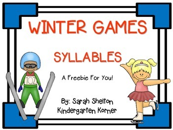Winter Games-Syllables