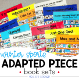 Winter Games Adapted Piece Book Set [ 12 book sets included! ]