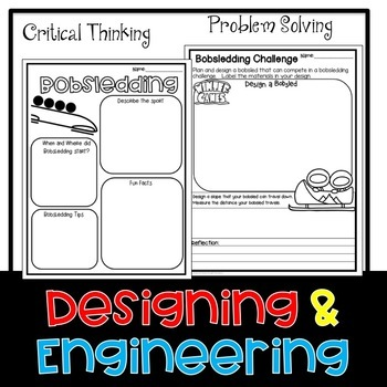 Winter Bobsledding STEM Challenge