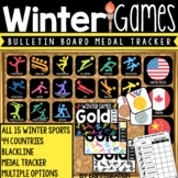 Winter Games 2018 Bulletin Board and Medal Tracker