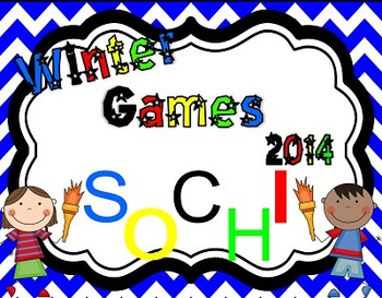Winter Games Bundle 2014 **Common Core** **Craftivity**