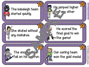 Winter Games Centers Unit from Teacher's Clubhouse