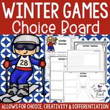 Winter Games Choice Board