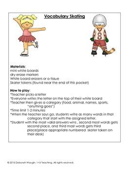 Winter Games Classroom Activities