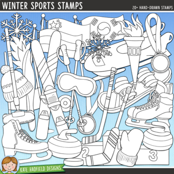 Winter Sports Clip Art