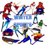 Winter Games Clip Art bundle- Olympics