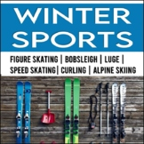 Winter Games: Close Reading Passages NO PREP BUNDLE