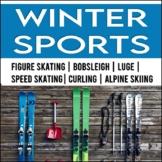 Winter Sports: Close Reading Passages NO PREP BUNDLE