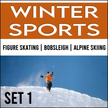 Winter Games: Close Read Passages, No Prep! (Set 1)