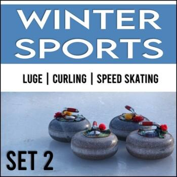 Winter Games: Close Reading Passages, No Prep! (Set 2)