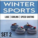 Winter Sports: Close Reading Passages, No Prep! (Set 2)