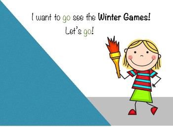 Winter Games Core Vocabulary Book