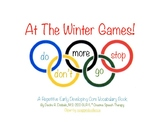Winter Games Core Vocabulary Book