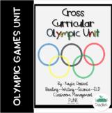 Winter Games Cross Curricular Unit- Updated!