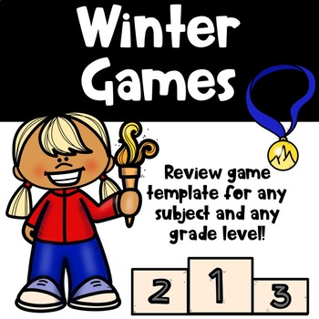Winter Games Editable Template
