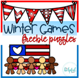 Winter Games - Freebie puzzles