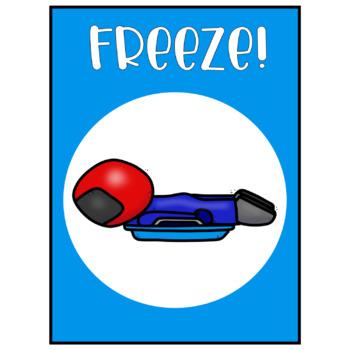 Winter Games - Freeze Dance