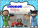 Winter Games Craftivity Glyph and Writing Activities