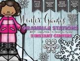 Winter Games Grammar {ELA} Centers