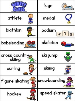Winter Games How Do You Spell