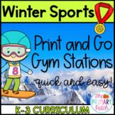 2018 Winter Olympics P.E. Stations
