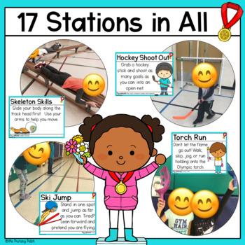 Winter P.E. Stations