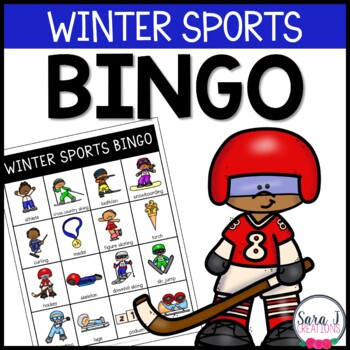 Winter Games Junior Bingo