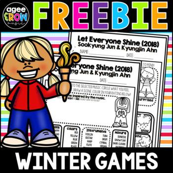 Winter Games (2) Listening Sheets, 2018, PyeongChan, South Korea, February