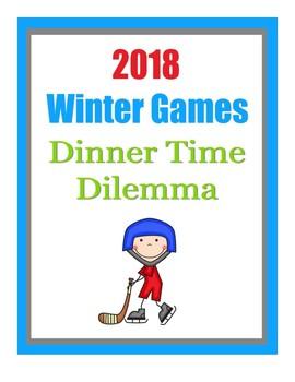 Winter Games Logic Puzzle
