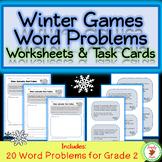 Winter Games Math Word Problems - 2nd Grade
