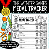 Winter Games Medal Tracker FREEBIE