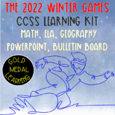 Winter Games (Olympics) 2018. Gold Medal Activities, Power