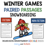 Winter Games Snowboarding Paired Passages [Print + Digital]