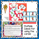 Winter Sports Pick a Partner Cards with Verbs and Character Traits