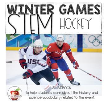 Winter Games STEM and Lapbook: Hockey