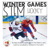 Winter Games STEM and Lapbook: Hockey