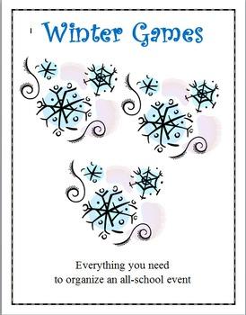 Winter Games - School Wide Event