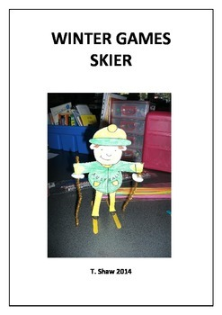 Winter Games Skier