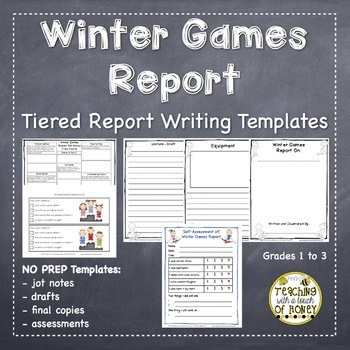 Winter Games: Tiered Report Writing Templates