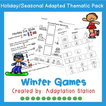 Winter Games Weekly Thematic Pack